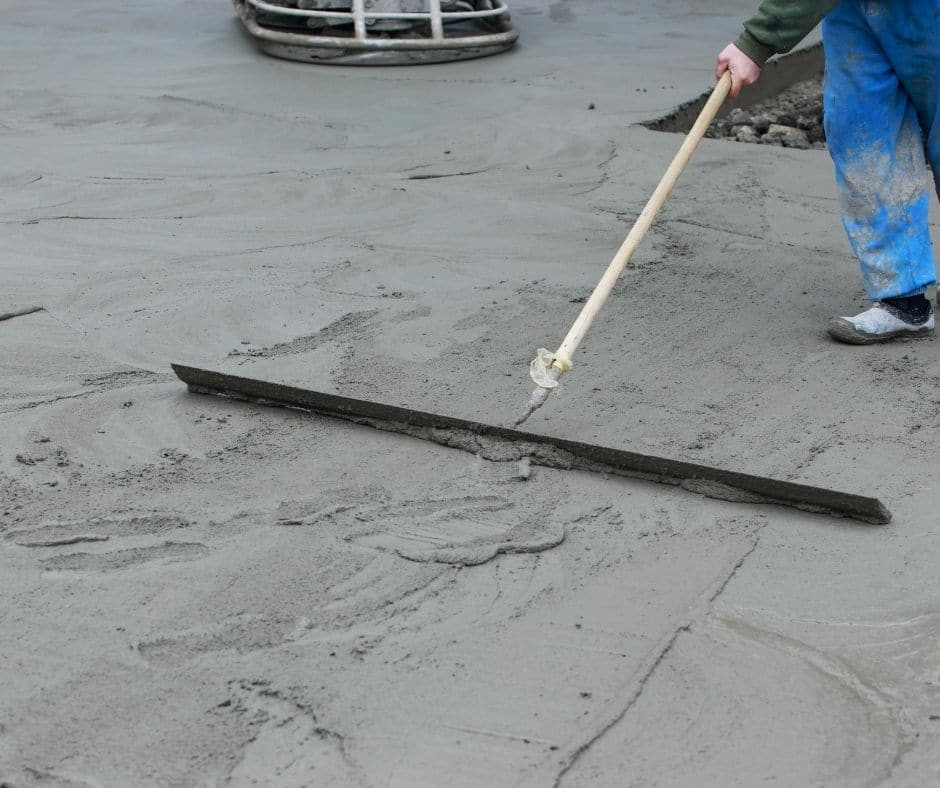 New Driveway poured in Atlanta